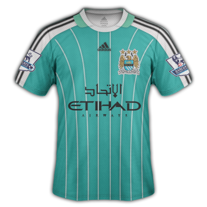 Man. City Fantasy Adidas Home Shirt
