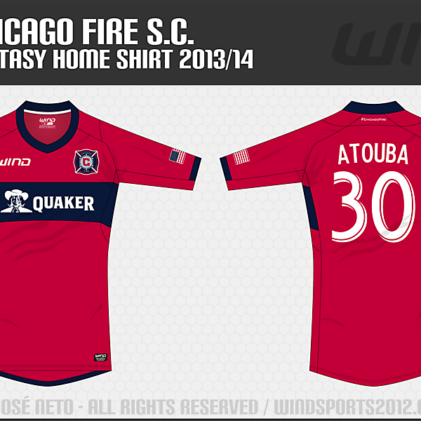 Chicago Fire, Home Shirt
