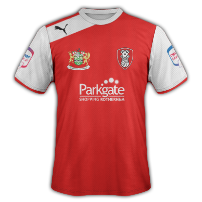 Rotherham United Home 2012-13