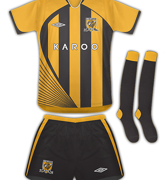 Hull City Home - Umbro Fantasty Design