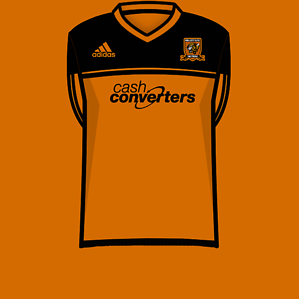 Hull City 12-13 home kit