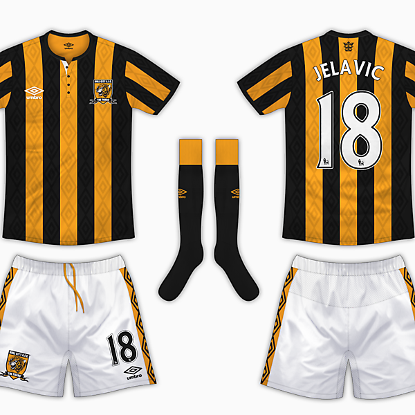 Hull City Home Kit - Umbro