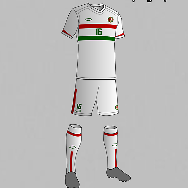 Hungary Nantional Football Team Away Kit 2016