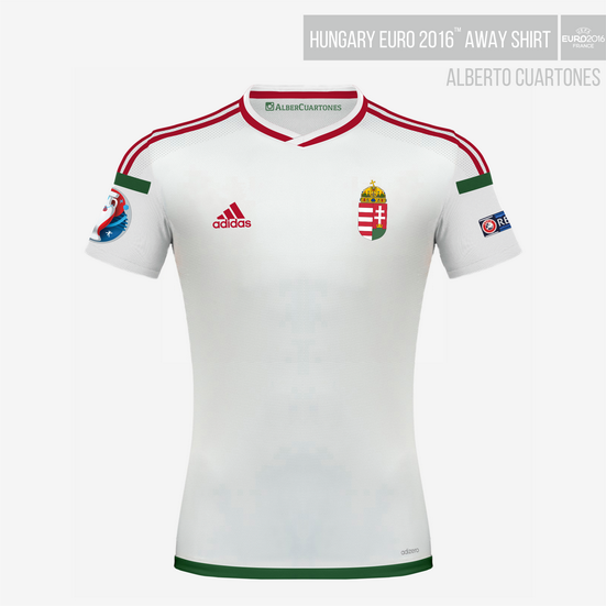 Hungary UEFA EURO 2016™ Away Shirt Final