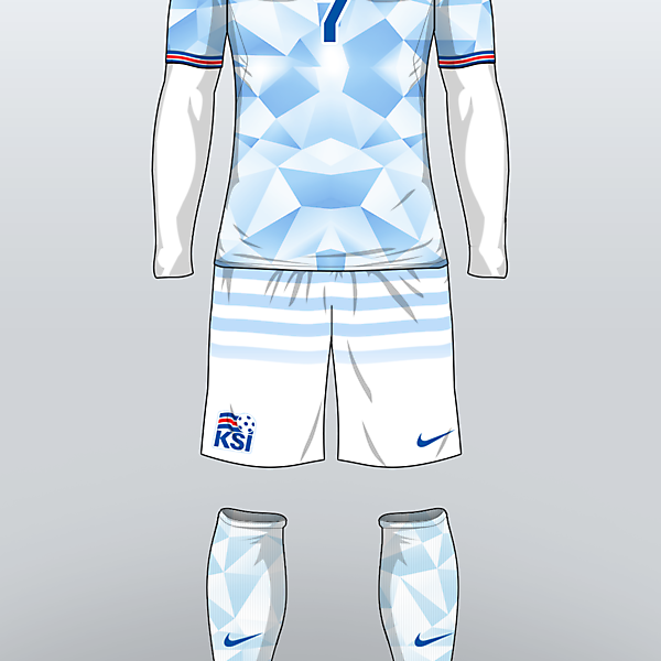 ICELAND - Away Kit 16/17 (concept)