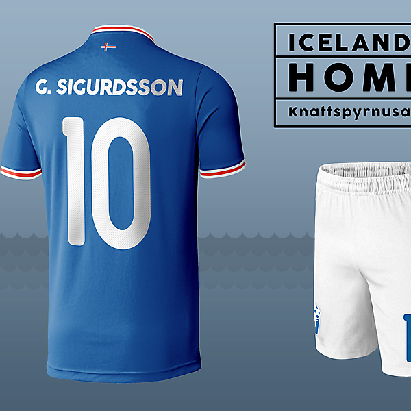Iceland Kit - World Cup Competition, Qualification