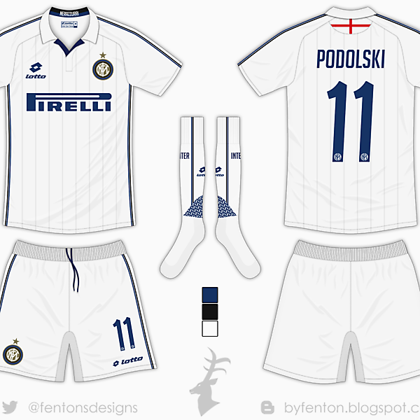 Inter Milan Away Kit - Lotto