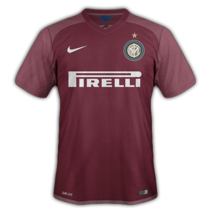 Inter Milan Away kit for 2015/16 with Nike