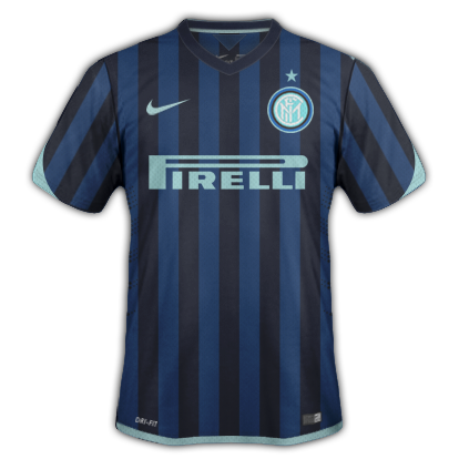 Inter Milan Home kit for 2015/16 with Nike