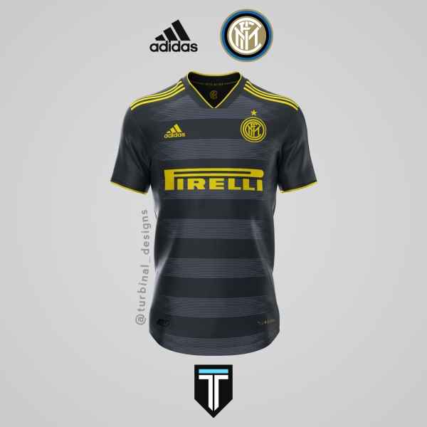 Inter Milan x Adidas - Third Kit Concept