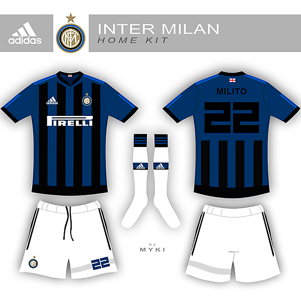 Inter Milan Home Kit