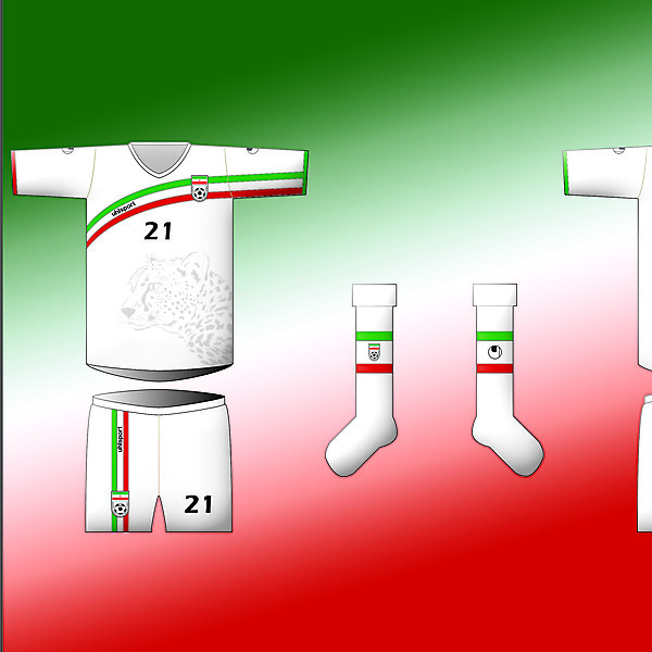 IRAN - Home Kit By Uhlsport