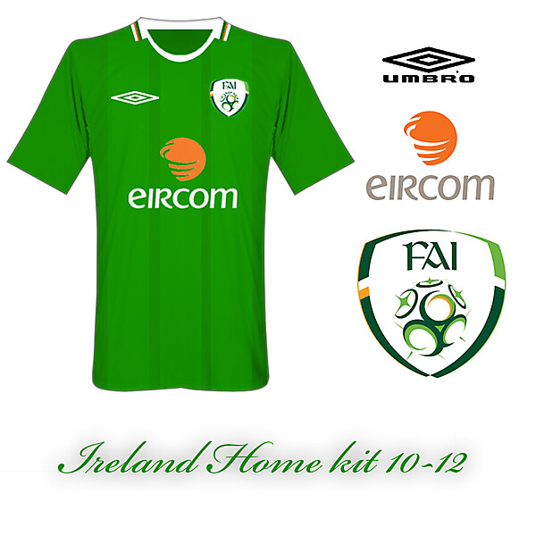 Ireland Home kit 10-12