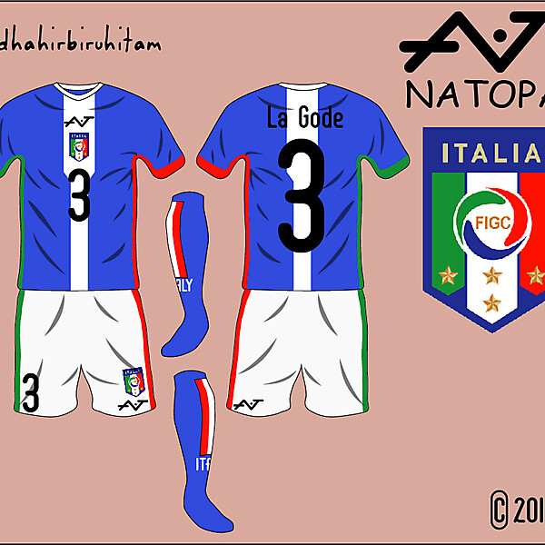 Italy National Team Fantasy Home Kit