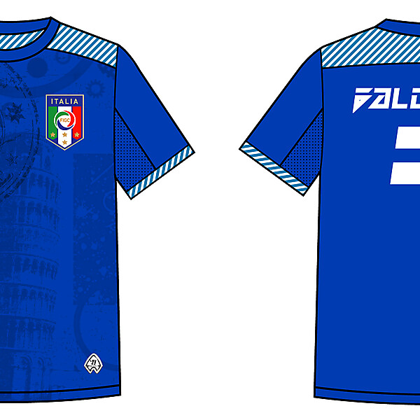 Italy Warrior Home Kit