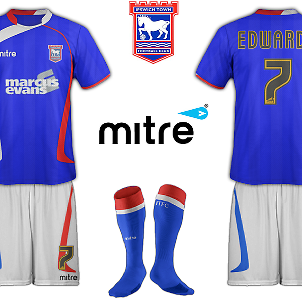 Ipswich Town Fantasy Home Kit