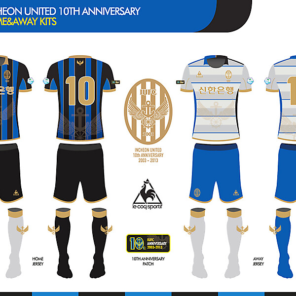 Incheon united 10th anniversary jersey