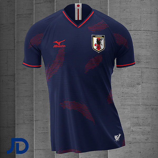 Japan - Home Kit for @design_cup