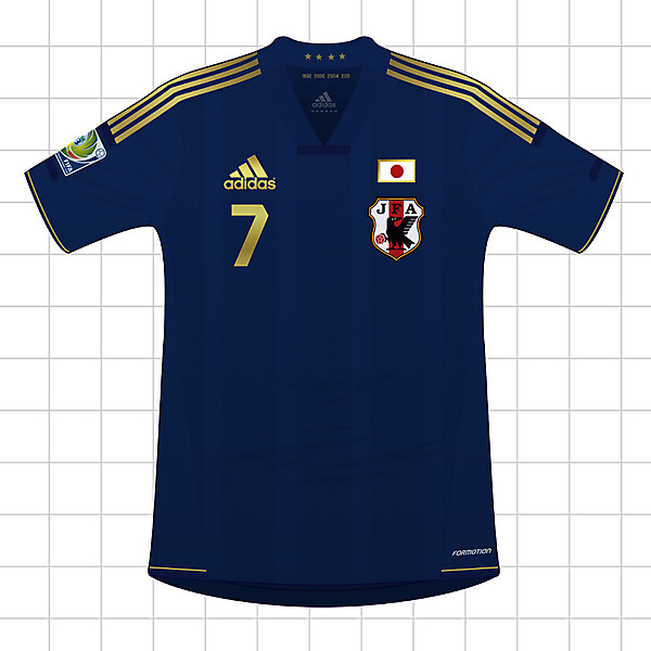 Adidas Japan 2013-2015 / 2013 FIFA CONFEDERATIONS CUP Shirt