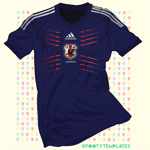 Japan - Remember Doha - One-off Shirt Concept