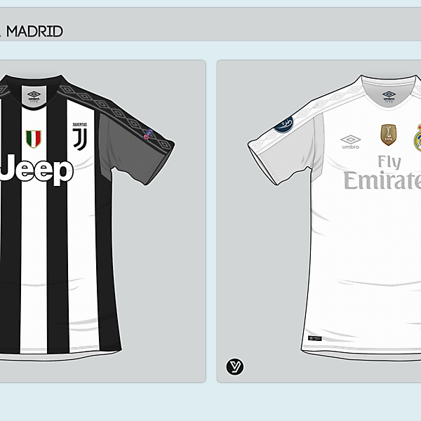 Juventus - Real Madrid x Umbro