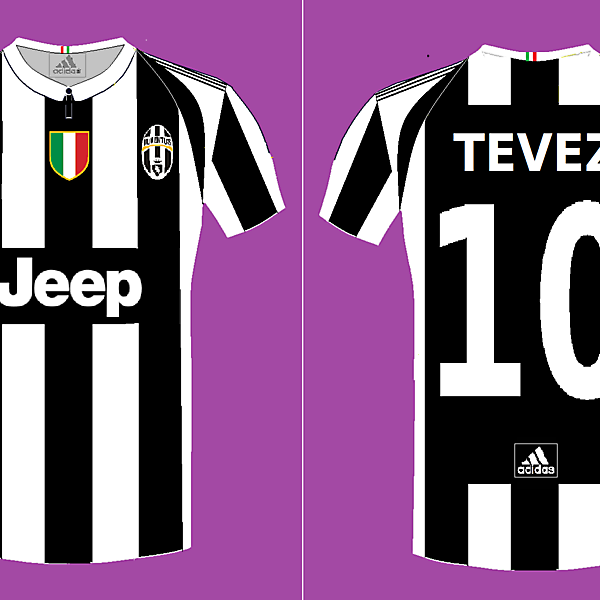 Juventus Adidas Fantasy Home Kit