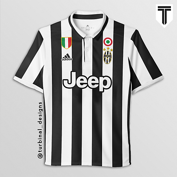 Juventus Home Concept Kit