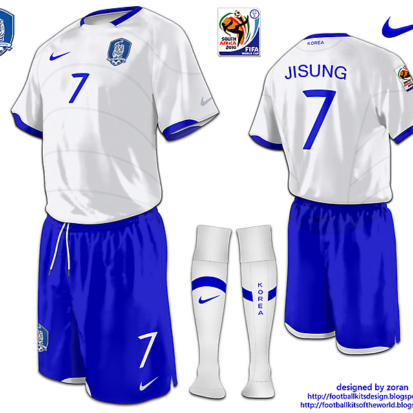Korea Republic World Cup 2010 fantasy away