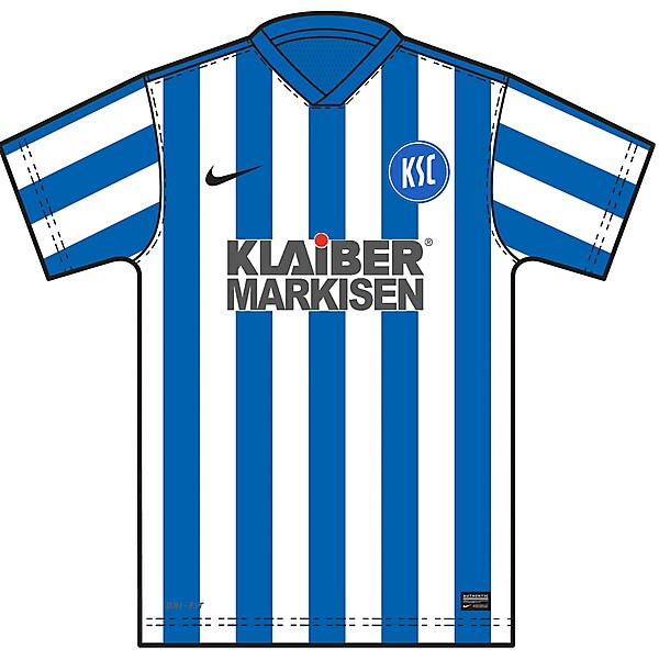 KSC - Karlsruher SC (HOME KIT)