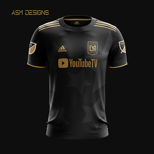 LAFC 2021 Adidas Home Kit