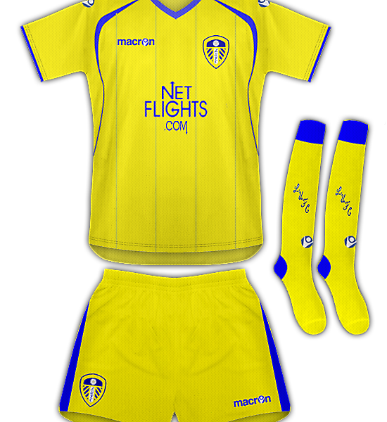 Leeds Utd Away Kit