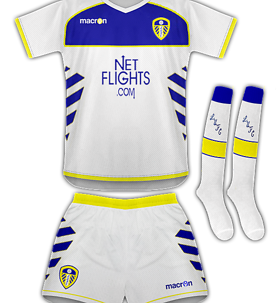 Leeds Utd Home Kit