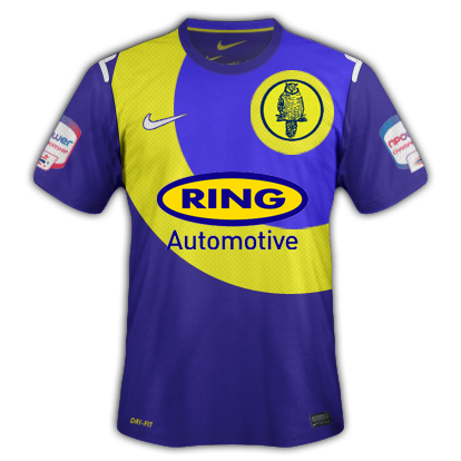 Leeds United Away Kit Yellow