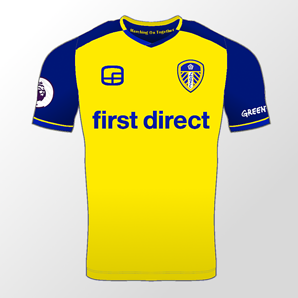 Leeds United Away Shirt