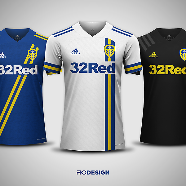 Leeds United FC | Adidas | Home, Away & Third