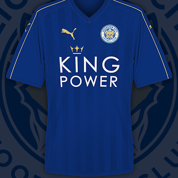 Leicester City 16/17 Home Kit