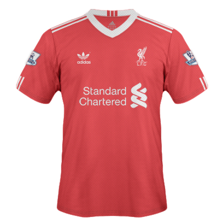 Liverpool Home Shirt