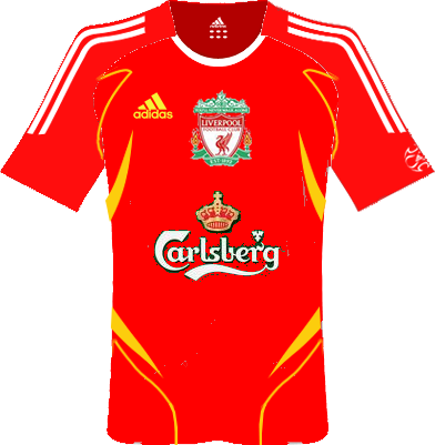Kits Liverpool, Port Vale, Stoke, England