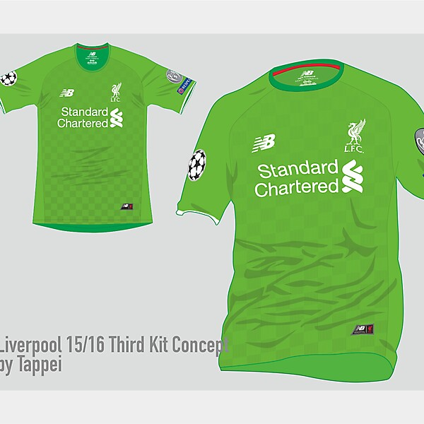 Liverpool 15-16 3rd kit concept w/ New Balance