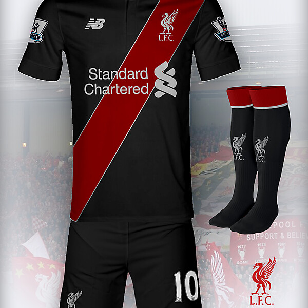Liverpool 15-16 New Balance 3rd Concept