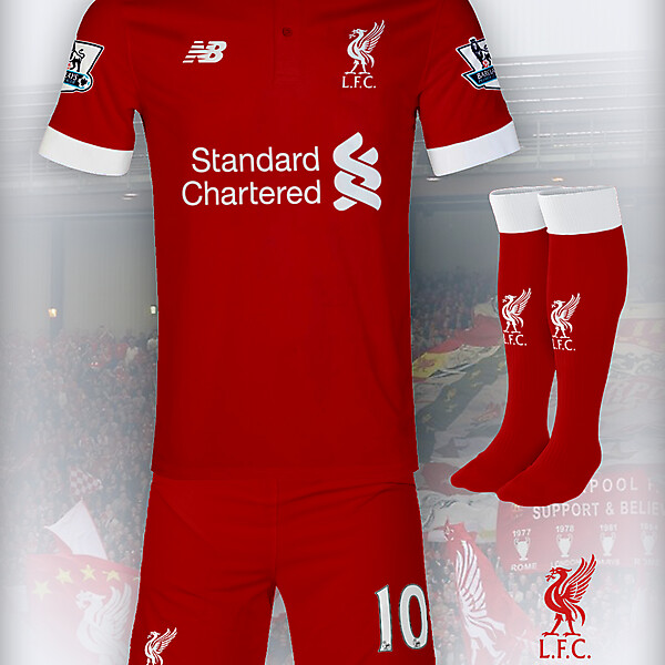 Liverpool 15-16 New Balance Home Concept