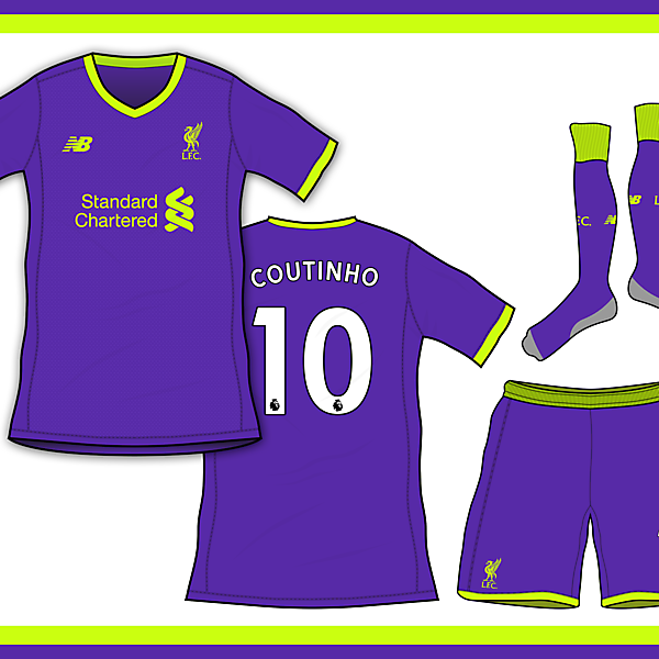 LIVERPOOL 18/19 AWAY KIT BASED ON LEAKS
