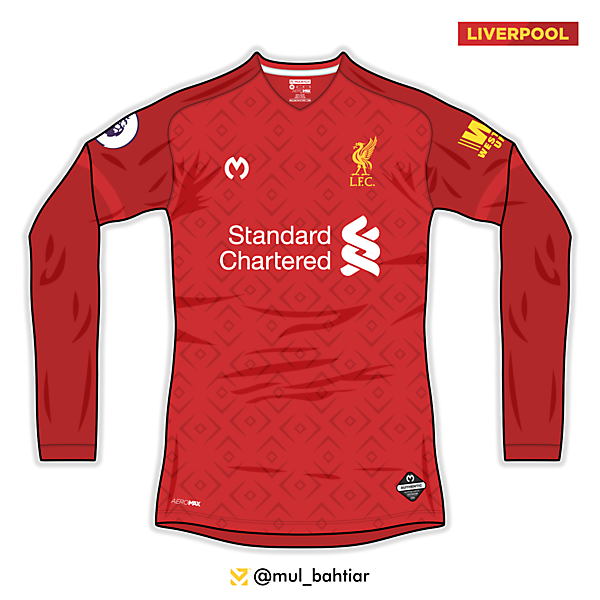 Liverpool 2020/2021 Mulbach Home Jersey Concept