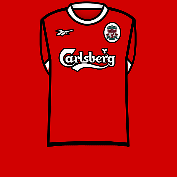 Liverpool 98-00 home kit