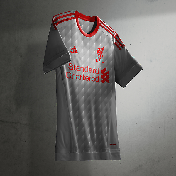 Liverpool adidas away/third shirt