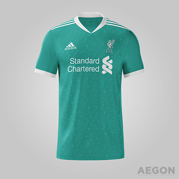 Liverpool Adidas Third Kit