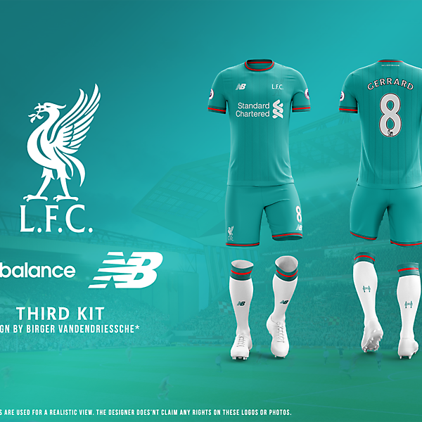 Liverpool FC - Fantasy Football Kit (THIRD)