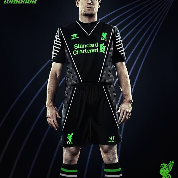 Liverpool f.c away kit 2014/15