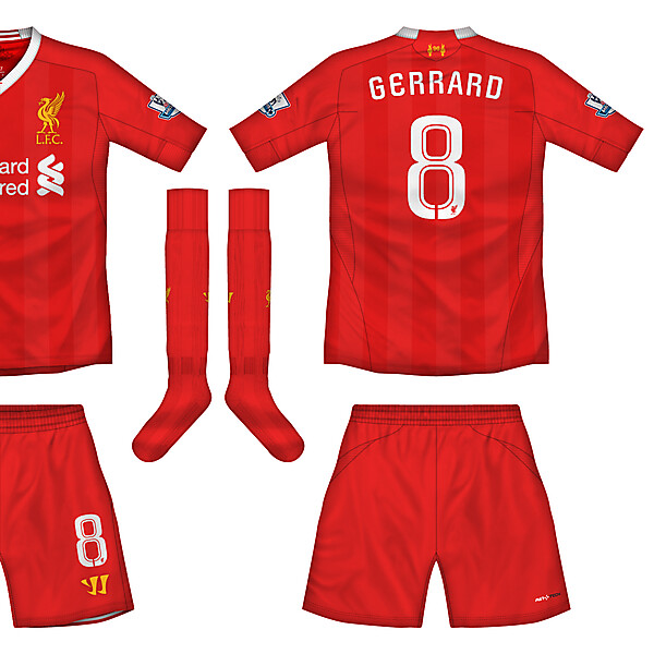 Liverpool Home Kit