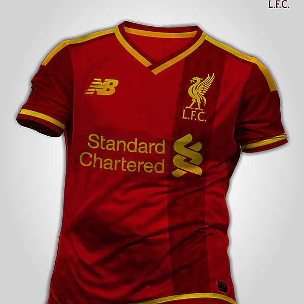Liverpool kit New Balance 2015/2016